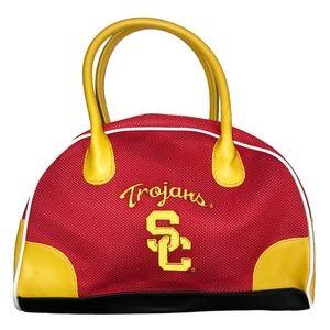 USC Trojans Perforated Bowler Bag